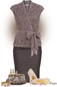 """womens_fashion- Embedded image permalink """"All the necessary business office outfit ideas you're seeking. What you should Wear to Work Outfit, If Fashionista Trends, Mode Outfits, Fashion Outfits, Womens Fashion, Skirt Outfits, Fashion Styles, Dress Skirt, Fashion Ideas, Travel Outfits"""