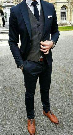 Weddings Discover Navy slim fit suit with grey waistcoat - Wedding suits groom - Mens Slim Fit Suits Slim Fit Tuxedo Tuxedo For Men Dark Blue Suit Navy Suit Brown Shoes Blue Grey Navy Grey Suit Mens Dark Grey Suit Men Wear Navy Slim Fit Suit, Tailored Suits, Mens Slim Fit Suits, Fitted Suits, Slim Fit Tuxedo, Dark Blue Suit, Blue Suit Men, Blue Grey, Blue Suit Groom