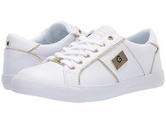 Shoes Sneakers, Women's Shoes, Guess Shoes, Trendy Fashion, Fashion Forward, Footwear, Lace Up, White Gold, Leather