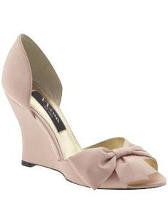 wedge heels will be comfortable-classy and sweet :)
