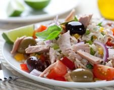 Fat Free Salad With Tuna recipes) Fried Onions, Fried Potatoes, Picky Eaters Kids, Snack Recipes, Healthy Recipes, Healthy Food, Hamburger Patties, Grilled Asparagus, Lemon Sauce