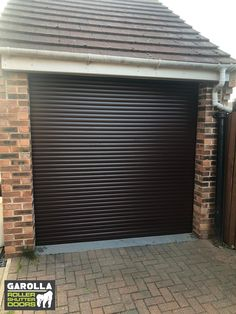 Roller Shutter Garage Doors from Garolla come in a variety of colours, including Brown, Blue and White. Roller Doors also come in a range of sizes, in fact Garolla's electric Roller Garage Doors are made-to-measure. Roller Doors, Roller Shutters, Brown Garage Door, Garage Doors, Electric Rollers, Garage Door Makeover, Door Design, Blue And White, Colours