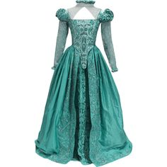 Shakespeare In Love Dress - edited by thestars-themoon ❤ liked on Polyvore featuring dresses and blue dress