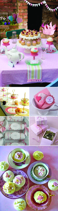Tea Party Birthday Party Inspiration and Ideas