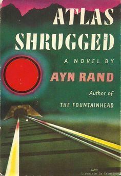 RAND, AYN. Atlas Shrugged (Première édition/Première impression)