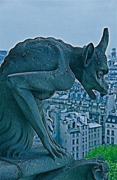 Gargoyles, Notre Dame, Paris