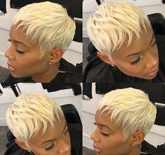 Love this blonde @__royalflush__ - https://blackhairinformation.com/hairstyle-gallery/love-blonde-__royalflush__/