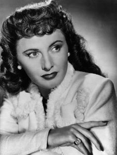 "Barbara Stanwyck   ""The Big Valley"", ""Christmas In Connecticut"" to name a few."