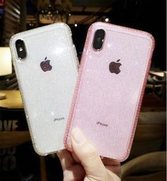 Glitter Luxury Shiny Sparkly Silm Clear Case Cover for i Phone XR XS Max 8 Plus - Iphone Plus Glitter Case - Iphone Plus Glitter Case ideas - Iphone Phone, Iphone 6 Cases, Iphone 6 Plus Case, Coque Iphone, Cell Phone Covers, Sparkly Phone Cases, Glitter Iphone 6 Case, Cute Cases, Cute Phone Cases