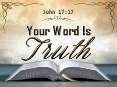 John 17:17.