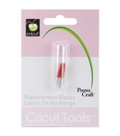 Provo Craft® Cricut® Replacement Blades : dies & accessories : die cut machines & accessories : scrapbooking :  Shop | Joann.com
