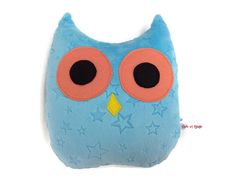 Your place to buy and sell all things handmade Beautiful Owl, Embroidery Fonts, Secondary Color, Wool Felt, Creations, Plush, Chic, Handmade, Stuff To Buy
