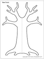 Apple Tree Templatedgn Apple Tree Without Leaves Coloring Pages