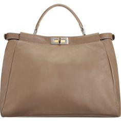 Vivian likes this classic look from Fendi Large Peekaboo Bag