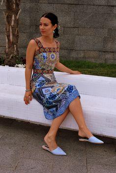 Римські канікули. Сарафан | BurdaStyle.ua: Мода, Дизайн, Рукоділля, Викрійки