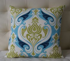 Decorative Pillows (navy, olive, turquoise)