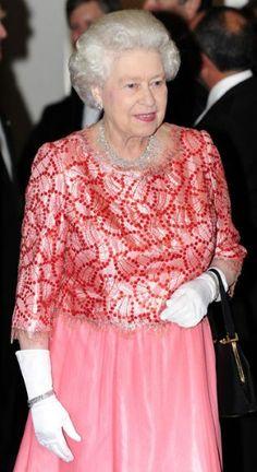 Queen Elizabeth II's colourful style in pictures - Fashion Galleries - Telegraph God Save The Queen, Hm The Queen, Royal Queen, Her Majesty The Queen, Elizabeth Queen Of England, Queen Elizabeth Ii, Tilda Swinton, Maria Callas, Sophia Loren