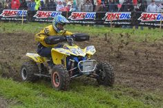 Kenny Rich Sr., piloted his Suzuki, clad with ITP Holeshot GNCC tires, to a first-place finish at round five of the GNCC series in Indiana.