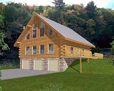 Mountain Log Vacation Home...