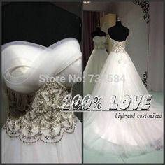 Find More Vestidos de noiva Information about frete grátis amostra real pérolas com cercadura mangas padrão bola vestidos de casamento istambul,High Quality Vestidos de noiva from 100% Love Wedding Dress & Evening Dress Factory on Aliexpress.com