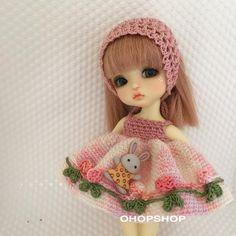 #latidoll #bjddoll #latiyellow #latithailand #crochet #crochetoutfit #handmade #handicraft #tiny #to - ohopshop