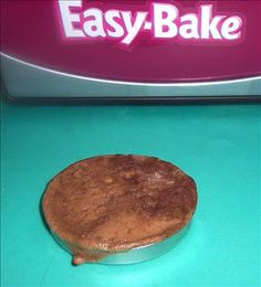 Easy Bake Oven Individual Chocolate Cake. Photo by looneytunesfan