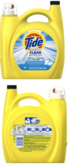 Details About Tide Simply Clean Fresh He Liquid Laundry