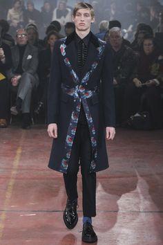 Alexander McQueen, autumn/winter 2015 menswear