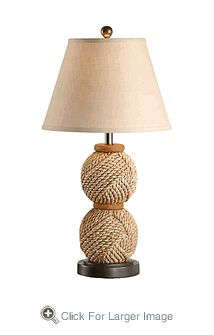 Tommy Bahama Rope Knot Table Lamp.