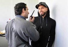Brotherly love. #Aguero heads home to #ARG to see his brother play in lower division league.