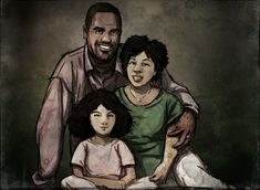 A photo of Clementine with her parents. Telltale's The Walking Dead Season 1 The Walking Ded, Walking Dead Show, The Walking Dead Telltale, Walking Dead Series, Clementine Walking Dead, Twd Memes, Ballet, Zombie Apocalypse, Game Character