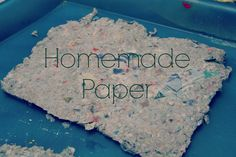Homemade Paper tutorial from Enchanted Pixie