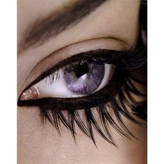 Eye Candy Editorial Eyes Have It, Fall 2008 Shot #5 | MyFDB ❤ liked on Polyvore