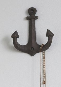 Anchor wall hook - for bathroom