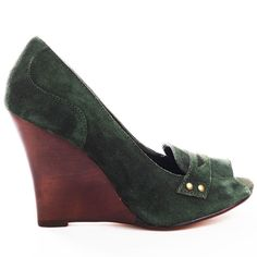 Restricted Penny Wedge - Green