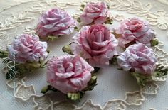 ♛Hand Made Shabby Chic Roses Tutorial♛