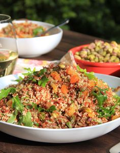 Our take on Yotam Ottolenghi's 'Red Rice and Quinoa Salad with ...