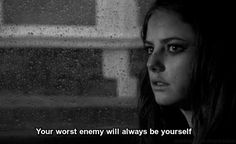 danke für ♥ (TV-Show: Skins) - - Tv Show Quotes, Film Quotes, Skins Quotes, Effy Stonem, Skins Uk, Dark Thoughts, Dark Quotes, Movie Lines, Quote Aesthetic