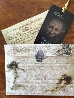 Froudian envelopes created for the Grand Opening of The Fernie Brae! A new magical store dedicated to fairy artists and showcasing Brian, Wendy and Toby Froud's artwork. Portland, OR. #TheFernieBrae #RealmofFroud #Froud www.worldoffroud.com www.ferniebrae.com #BBPCreations