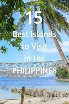 Here are the 15 Best Islands in the Philippines to Visit.The Philippines have over 7,000 islands, perfect beaches, stunning nature, and the local people are friendly. We fell for the Philippines when we visited last year. We loved the people and the hospitality; it's called Filipino Culture or Pinoy charm, and that is why we asked our fellow travel writers from around the world, to share the Best Islands in the #Philippines with us ..and you.