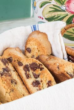 Anise biscotti with