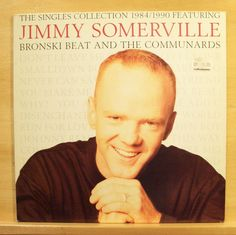 JIMMY SOMERVILLE - The Singles Collection - Vinyl LP Bronski Beat The Communards