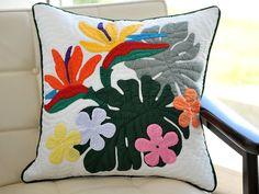 Quilt pillow - ハワイアンキルトクッションカバー46センチhp00316【楽天市場】