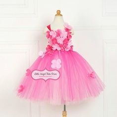 Check out this item in my Etsy shop https://www.etsy.com/uk/listing/504013362/fuchsia-pink-flower-fairy-tutu-dress