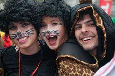 Ξάνθη (Xanthi) in Ξάνθη, Ξάνθη Carnival, Halloween Face Makeup, Mardi Gras, Carnival Holiday
