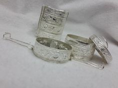 silver tiffin box