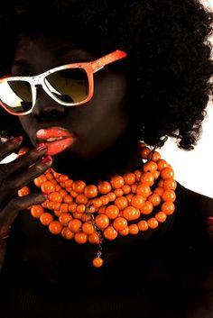 .black & orange fluor