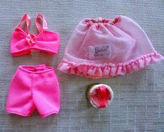 "VHTF Barbie Vintage mod era 1969 Pak ""Perfect Beginnings"", lingerie, EUC"