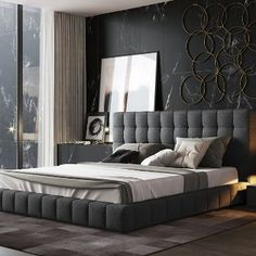 home decor bedroom design Bedroom Furniture Design, Luxury Bedroom Design, Master Bedroom Design, Bed Furniture, Home Decor Bedroom, Furniture Movers, Mens Bedroom Design, Furniture Websites, Furniture Dolly