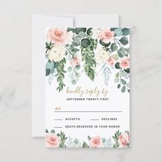Gold Wedding Invitations, Watercolor Wedding Invitations, Wedding Rsvp, Custom Invitations, Elegant Wedding, Invites, Rustic Wedding, Sage Green Wedding, Blue Wedding